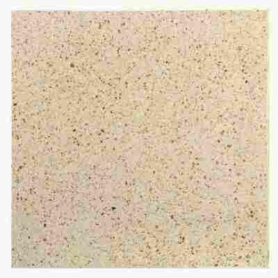 Terrassenplatte 'T-Court Sleek' 400 x 40 x 400 mm beige