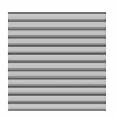 Zaunfeld-Set 'System' silber Metall