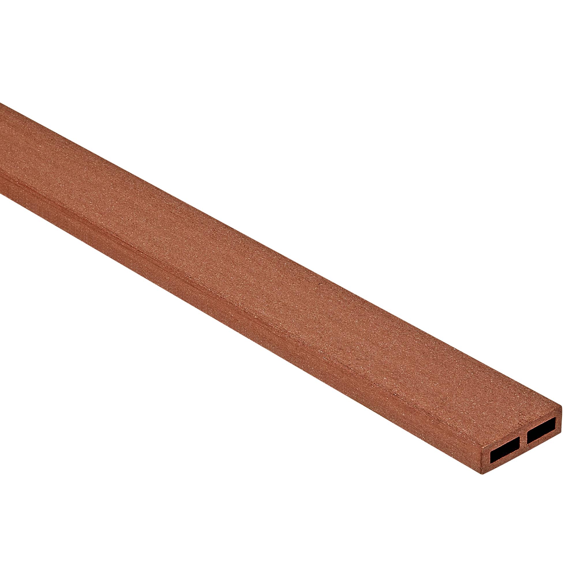 wpc-abschlussleiste rotbraun 300 x 6 x 1,7 cm ǀ toom baumarkt