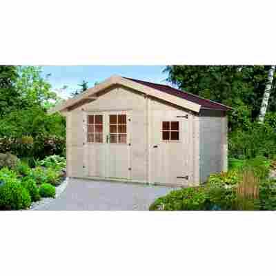 Gartenhaus '253' 370 x 250 cm, naturfarben