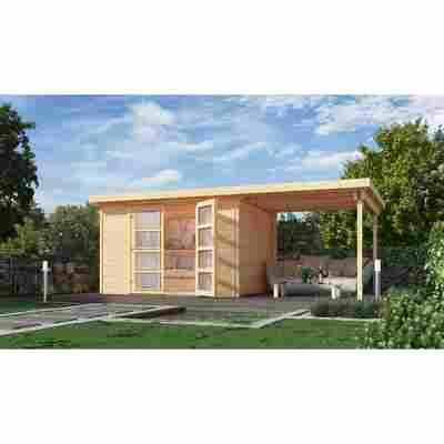 Gartenhaus '321 B' 428 x 194 cm, naturfarben
