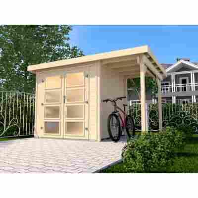 Gartenhaus '321 A' 369 x 250 cm, naturfarben