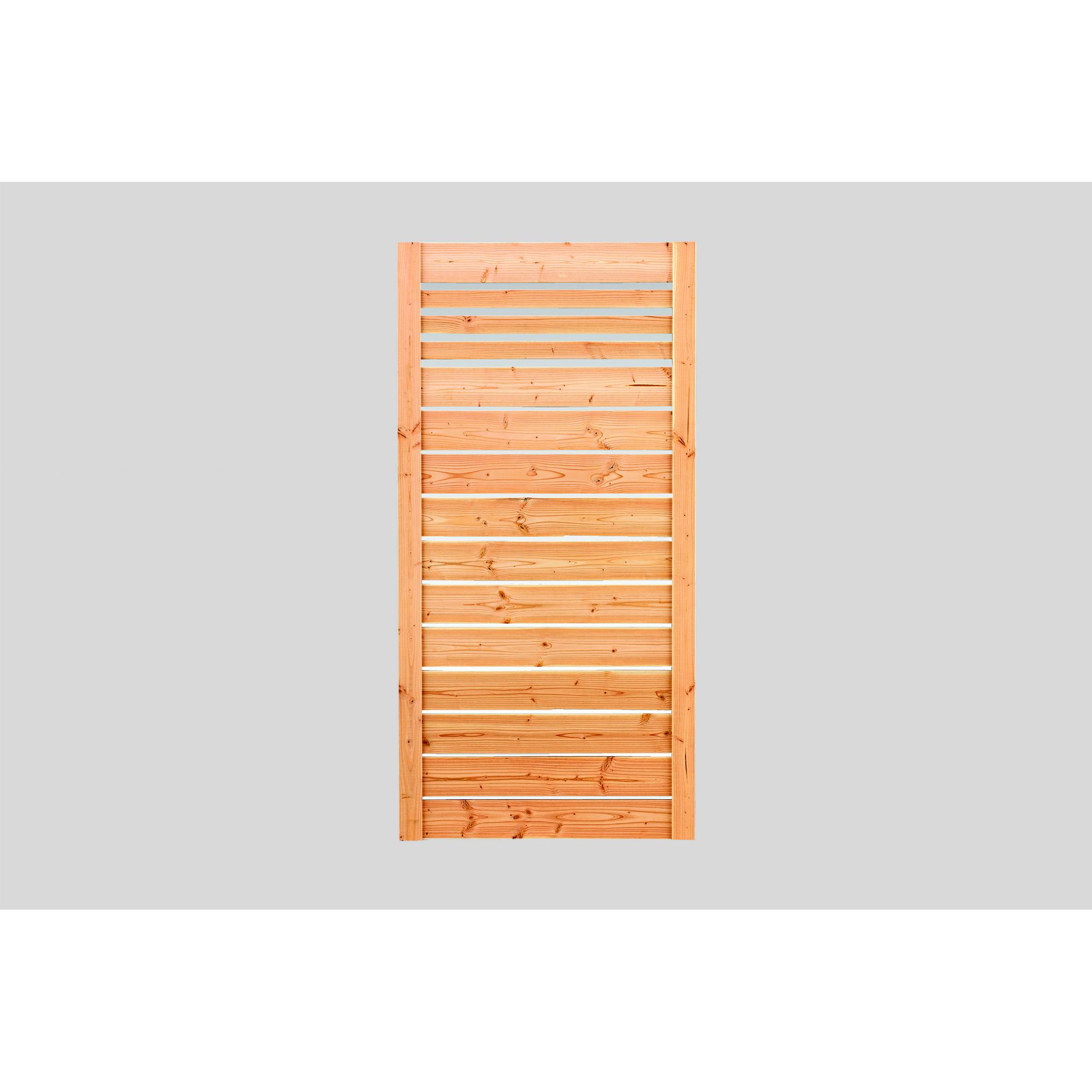 Rettenmeier Outdoor Wood Sichtschutzzaun Neo Holzfarben