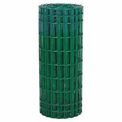 Schweißgitter 'Jaditor' grün, Kunststoffummantelung 2500 x 80 cm