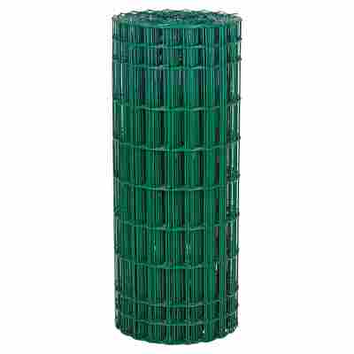 Schweißgitter 'Jaditor' grün, Kunststoffummantelung 2500 x 120 cm