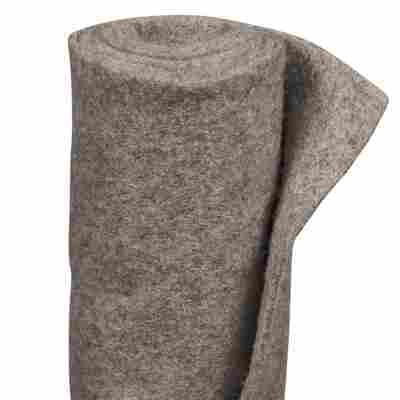 Winterschutz-Schafwollmatte steinfarben 150 x 50 cm
