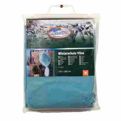Winterschutz-Vlies eisblau 150 x 500 cm
