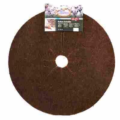 Kokos-Scheibe braun 45 cm