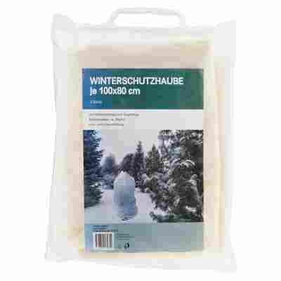 Winterschutzhauben 2 Stück 100 x 80 cm