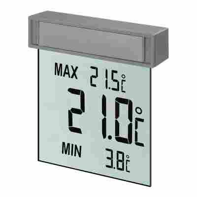 "Fensterthermometer ""Vision"" transparent 10,5 cm"
