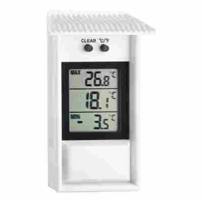 Maxima-Minima-Thermometer weiß 13 cm