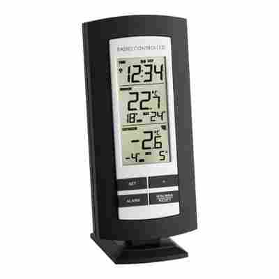 "Funkthermometer ""Basic"" schwarz 15,8 cm"