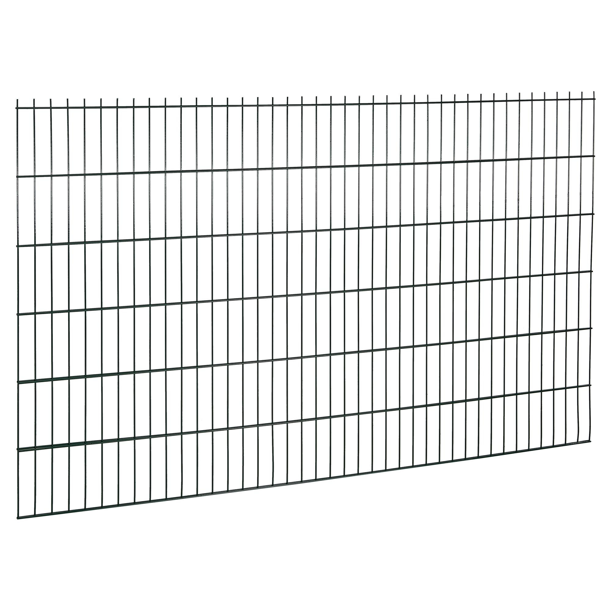 5 x Teichzaun Marienberg GRÜN Zaun Metall Zaunmatten Zierzaun Teichzäune Draht