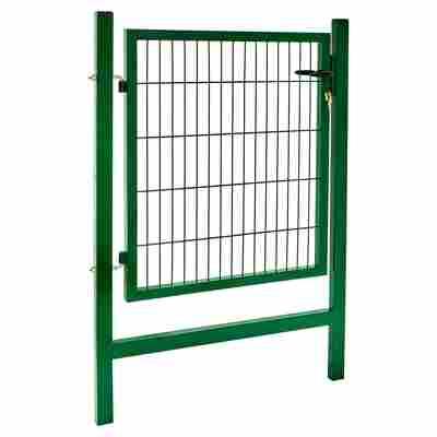 Gartentor 'Easy' grün, einflügelig 100 x 100 cm