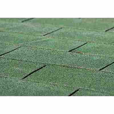 Bitumen-Dachschindeln rechteckig 3 m² grün