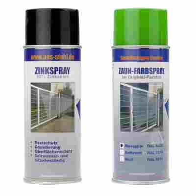 Zinkspray und Farbspray Set moosgrün à 400 ml