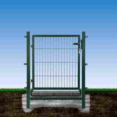 Gartentor 100 x 120 cm grün