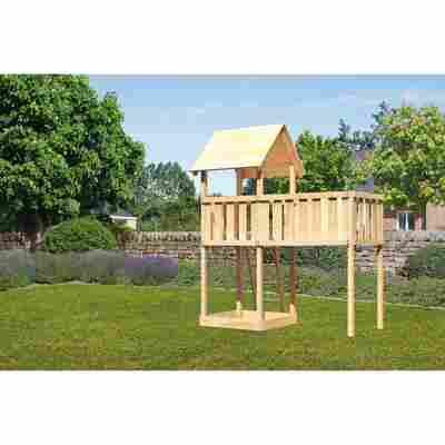 Kinderspielturm 'Lotti' Satteldach, Anbau XL, 247,8 x 107 x 291 cm
