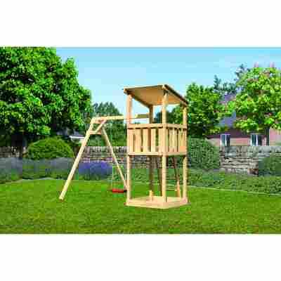 Spielturm 'Anna' Einzelschaukelanbau, 257 x 242,5 x 270 cm