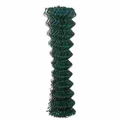 Maschendrahtgeflecht 4-Eck kunststoffummantelt grün 2500 x 150 cm