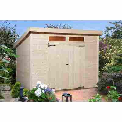 Gartenhaus '325 A' 299 x 250 cm, naturfarben