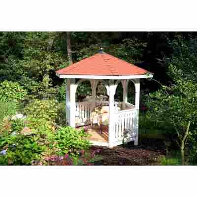 Brüstung für Gartenpavillon 'Nancy Größe 2' naturfarben 150 x 96 cm