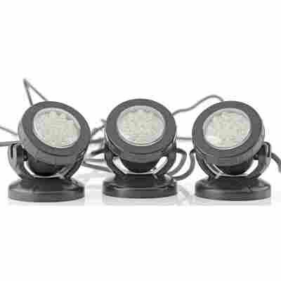 LED-Teichleuchte 'PondoStar' 3er-Set