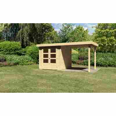 Karibu Systemhaus Dornhan 2 Set 1 inkl. Anbau 2,20 m naturbelassen