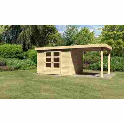 Karibu Systemhaus Dornhan 5 Set 1 inkl. Anbau 2,20 m naturbelassen