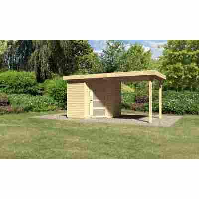 Karibu Systemhaus Dohren 3 Set 1 inkl. Anbau 2,20 m terragrau