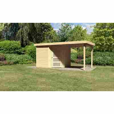 Karibu Systemhaus Dohren 5 Set 1 inkl. Anbau 2,20 m naturbelassen