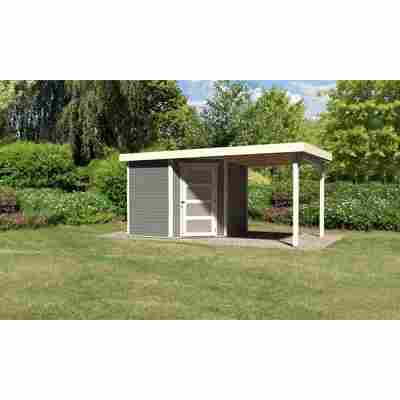 Karibu Systemhaus Dohren 5 Set 1 inkl. Anbau 2,20 m terragrau