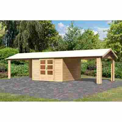 Gartenhaus 'Mylau 7' 947 x 250 x 348 cm naturbelassen