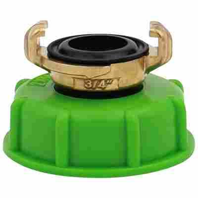 IBC-SK-Adapter 3/4 Zoll Standard mit fester Mutter