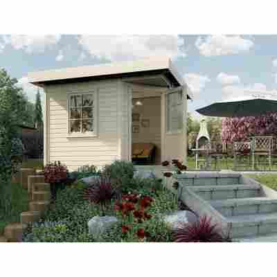 Gartenhaus '213+' 238 x 238 cm, naturfarben