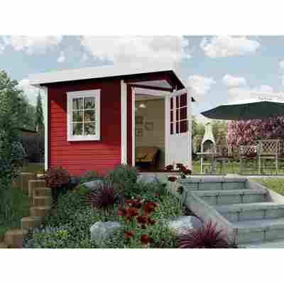 Gartenhaus '213+' 298 x 298 cm, rot