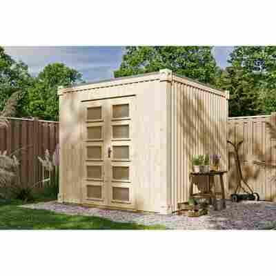 Gartenhaus 'Cube L' 250 x 250 cm, natur