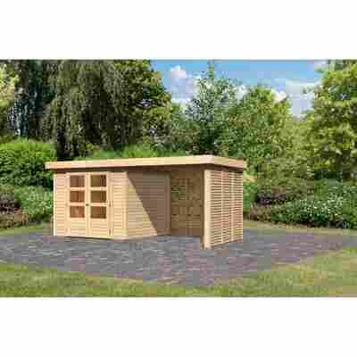 Gartenhaus 'Dornhan 3,5' Set 4 Steck-/Schraubsystem