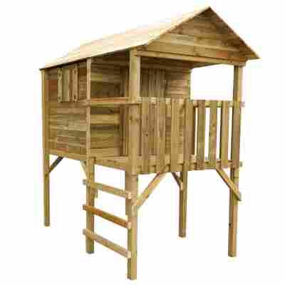 Spielhaus auf Stelzen 'Doro' 130 x 210 cm naturbelassen