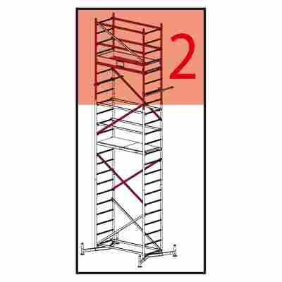 """Arbeitsgerüst """"ClimTec"""" 2. Aufstockung, Aluminium"""