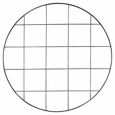 Quadratabschluss Alu chrom 10 mm 2,5m