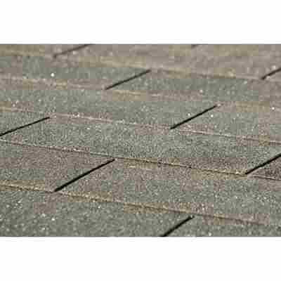 Bitumen-Dachschindeln, rechteckig, anthrazit, 3 m²