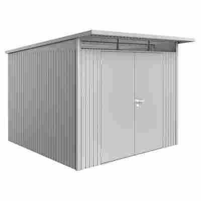 Gerätehaus 'AvantGarde XL' 260 x 300 cm Silber metallic