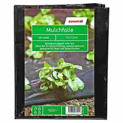 Mulchfolie 0,02 mm schwarz 1000 x 120 cm