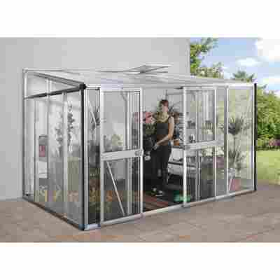 Nachrüstsatz für Gewächshaus 'Helena 8600' aluminiumfarben