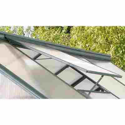 Alu-Dachfenster für Gewächshaus 'Triton' silber 61,5 x 66,7 cm