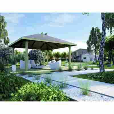 Gartenlaube, Größe 2, 480 x 480 cm