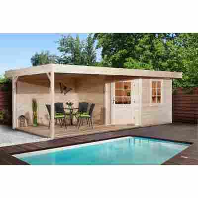 Gartenhaus 'Fides' Größe 2, naturfarben