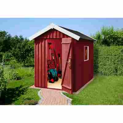 Gartenhaus 'Schwedenhaus' schwedenrot, Größe 2