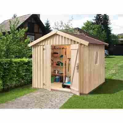 Gartenhaus 'Schwedenhaus' naturfarben, Größe 3
